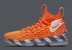 official photos eae02 14fa9 LeBron James  New Sneakers Pay Homage to the Orange Nike Box