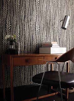 pattern // wallpaper // floral // leaves