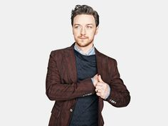 James McAvoy shows off his bold style for Esquire.