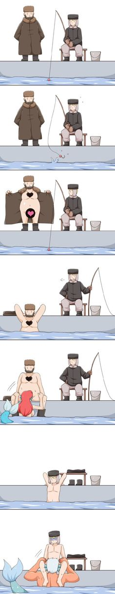 What the hell lmao. I can only assume this is fishing in Russia lol
