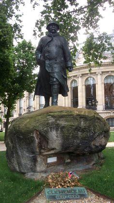 #Clemenceau  #Paris June 2014  www.pinterest.com/annbri/