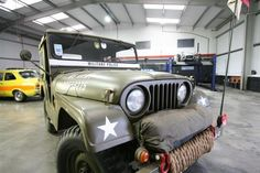1958 Ex-Military Police Willys Jeep.... We have a '51 willys... Want to restore ours