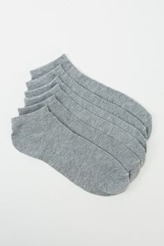 Men's 6 Pairs Pack Of Cotton Rich Socks