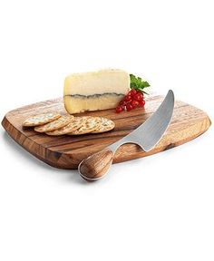 Cheese boards can vary in size and fabrication — wow guests with one that's both stylish and functional