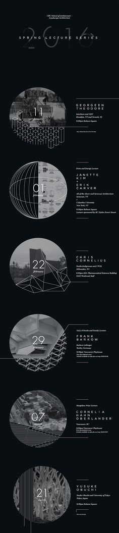 Get Lectured: University of British Columbia, Spring '16 | Poster courtesy of UBC SALA | Archinect