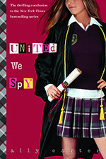 (Grades 7-10) After six books, it's time to bid the Gallagher Girls goodbye. Cammie and her friends are tracking down the members of the Circle of Cavan before they destroy the country. Click through to see the book trailer for United We Spy.