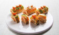 Tortas de salmão fumado - boa ideia para o jantar de hoje?