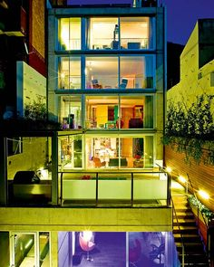 Glass and concrete dream house in Barcelona