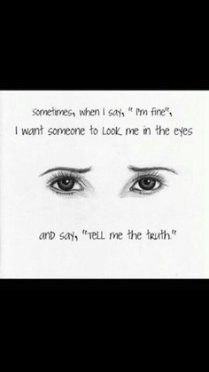 love truth depressed depression sad eyes beautiful hurt true hate broken night want thoughts heart self harm cutter stay strong care reality strong lies need late honest sadness depressing lie heartbreak im fine Sad Quotes, Inspirational Quotes, Qoutes, Heart Quotes, Sleep Quotes, Quotations, Motivational Quotes, Positiv Quotes, Sad Drawings