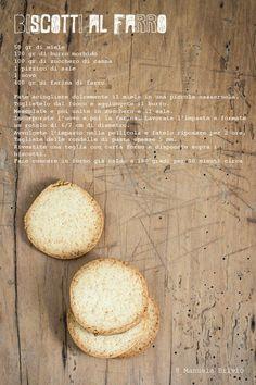Biscotti al farro delicati e friabili