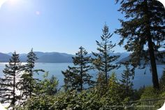 Along the Sea to Sky Highway in British Columbia