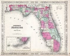 40 Best Florida maps images