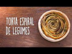 Receitas Veganas - Torta Expiral de Legumes - YouTube