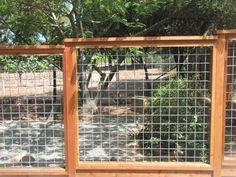 8 Irresistible Cool Tricks: Farm Fence Website fence for backyard patio.Fence For Backyard Patio fence panels chicken coops. Wire Deck Railing, Hog Wire Fence, Cat Fence, Front Yard Fence, Fenced In Yard, Metal Fence, Fence Gate, Metal Arbor, Deer Fence