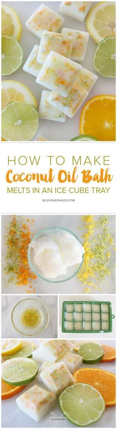 Beauty-pin-How-to-Make-Coconut-Oil-Bath-Melts-in-an-Ice-Cube-Tray.jpg (Hobbies To Try Essential Oils) Beauty-pin-How-to-Make-Coconut-Oil-Bath-Melts-in-an-Ice-Cube-Tray.jpg (Hobbies To Try Essential Oils) Diy Spa, Fondants Pour Le Bain, Diy Masque, Bath Melts, Homemade Beauty Products, Diy Beauty Stuff, Beauty Hacks Diy, Beauty Tips, Lush Beauty