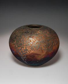 Copper Matte Textured Pot by Joe Clark photo John Morser
