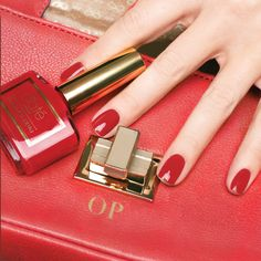 Olivia Palermo's Go-To Red #Ciate on the #Sephora Beauty Board