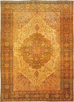 Antique Tabriz Persian Rug from Nazmiyal