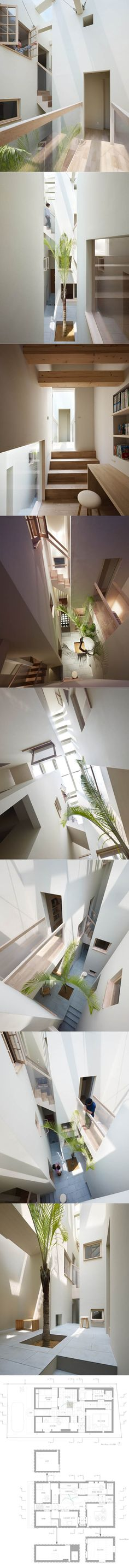 2013 Fujiwaramuro - House in Goido / white / wood