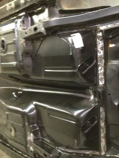 Floor pan finished out