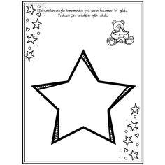 4 yaş etkinlikleri Preschool Worksheets, Preschool Activities, School Frame, Study Habits, Arts And Crafts Projects, Pre School, Coloring Pages, Kindergarten, Teacher