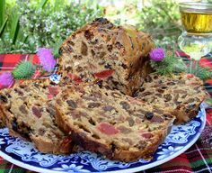 Bonny Scotland, St Andrew's Day and Fruited Tea Loaf with Whisky