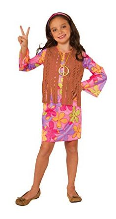 Rubies Costume Sunshine Hippie Value Child Costume Large *** To view further for this item, visit the image link-affiliate link.