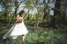 Bride In The Grounds Of Clock Barn Photo New Forest Studio