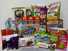 Healthy Snacks In-a-box, College, Military ,New Years	by Naturaly Snacks http://foodiegiftsnow.com/grocery-gourmet-food/gourmet-gifts/healthy-snacks-inabox-college-military-new-years-com/