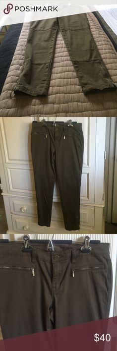 Two great fitting pair of Michael kors Jeans. Two stretch straight legged jeans. Well cared for and very comfortable and stylish. Two side zippers. Two back pockets. Michael Kors Pants Straight Leg