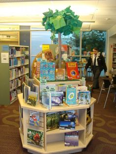 Kid's Earth Day display