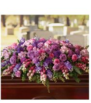 Pink and Purple Funeral Flowers | Teleflora