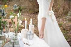 Mariage deco scandinave inspiration editorial shooting l Photos Annaimages l La Fiancee du Panda blog mariage-302 robe Mademoiselle de Guise