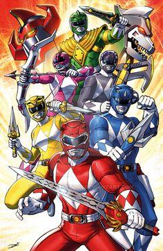 Mighty Morphin Power Rangers by Dan Khanna
