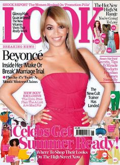 LOOK Magazine used for promoting the collection