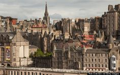 Scotland. Edinburgh's Old Town will transport you to medieval times.