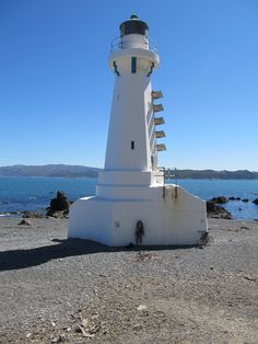 Pencarrow Lighthouse.