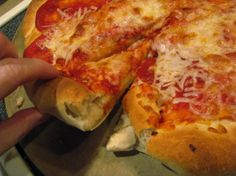 copycat papa johns pizza crust..I'm going to make this to see if it really does taste like the real thing. :)