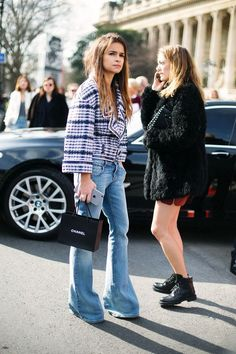 "vogueably: ""streetstyle "" MORE FASHION AND STREET STYLE"