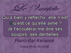 Cest écrit - Francis Cabrel Piano Bar, Ara Bleu, T Shirt, Women, Supreme T Shirt, Tee Shirt, Tee, Woman