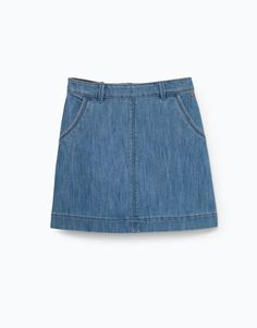Lefties - falda denim aline - 0-405 - 01440300-V2016