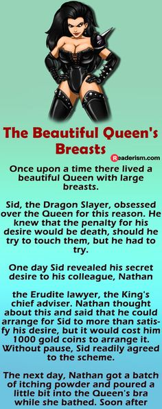 The Beautiful Queen With Large Breasts Women Jokes, Stupid Funny Memes, Hilarious, Dragon Slayer, The Cure, Breast, Queen, Funny Shirts, Larger