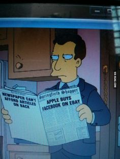 Simpsons trying to predict the future.