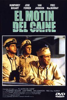 El motín del caine (1954) EEUU. Dir: Edward Dmytryk. Drama. Bélico. II Guerra Mundial - DVD CINE 757