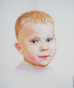 Купить портрет по фото - портрет на заказ, карандашный портрет, портрет ребенка на заказ