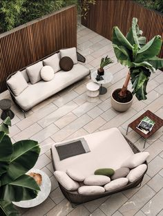 "Minotti Ipad - SOFAS - EN | ASTON ""CORD"" OUTDOOR SOFA"