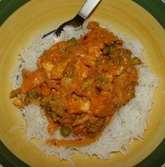 ~*~Veganosaurus~*~: Basmati Rice with Tofu Broccoli Curry