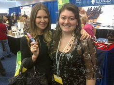 """The lovely Mary Zilba from Real Housewives of Vancouver droppped by Mom's Kisses booth at The 21st Annual Vancouver Wellness Show. She'll be spraying Mom's Kisses on her bruised knee this week to heal it and take the pain away! Mary is gracious, beautiful and truly a """"nice girl"""".  Sometimes nice girls finish first!! Yeah. #Vancouver #NaturalHealth #arnica #Mom'sKisses #TheRealHousewivesofVancouver #MaryZilba"""