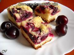 Házias konyha: Cseresznyés-morzsás süti