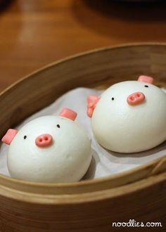 Sweet buns so fun! | Japanese Sweets | Pinterest
